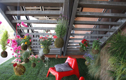 Allestimento giardino stand