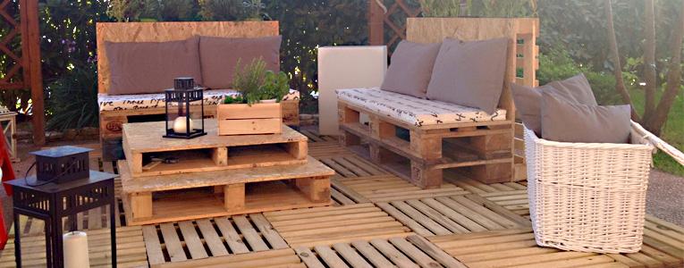 Pallet design - Mobili con bancali di legno ...