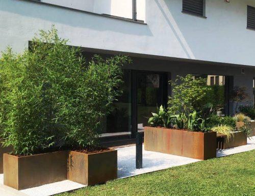 Giardino per una casa ecosostenibile